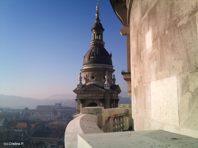 View from St Stephen's Cathedral, Budapest