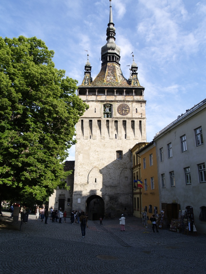 Clock Tower at Sighisoara Fortress