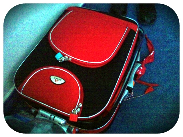 My luggage for 2 full weeks away (March 2012)